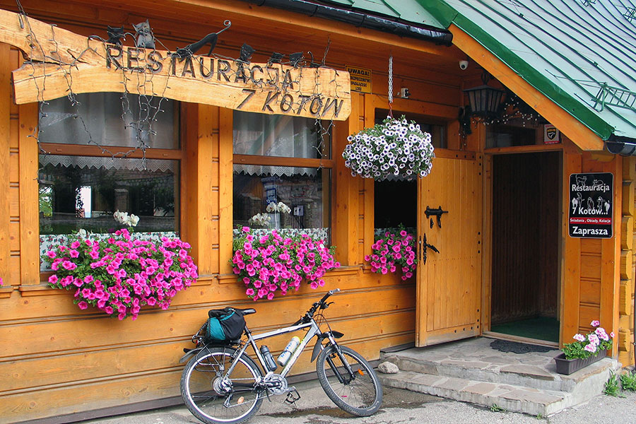 Cyrhla Toporowa - Kultowa restauracja