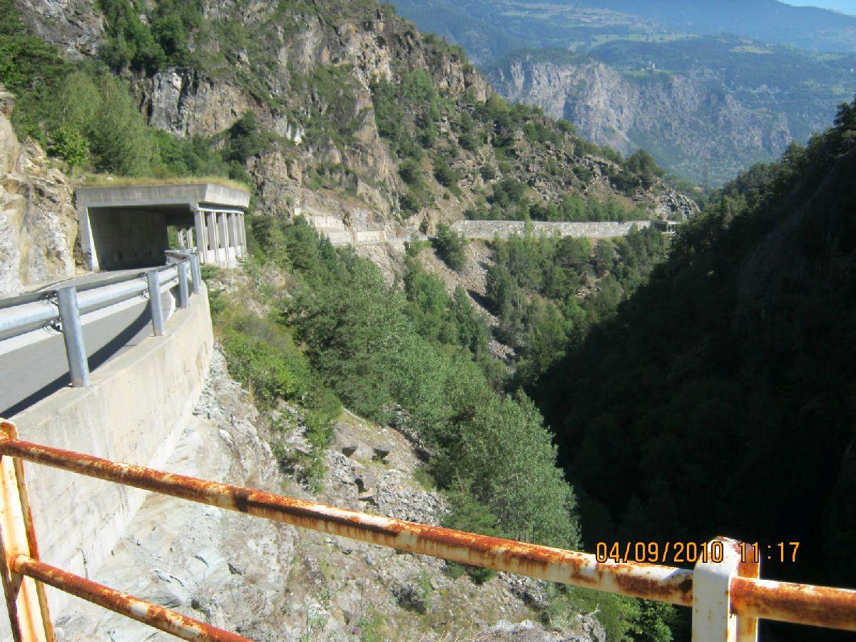 Valgrisenche (ITA) - Tunele na trasie