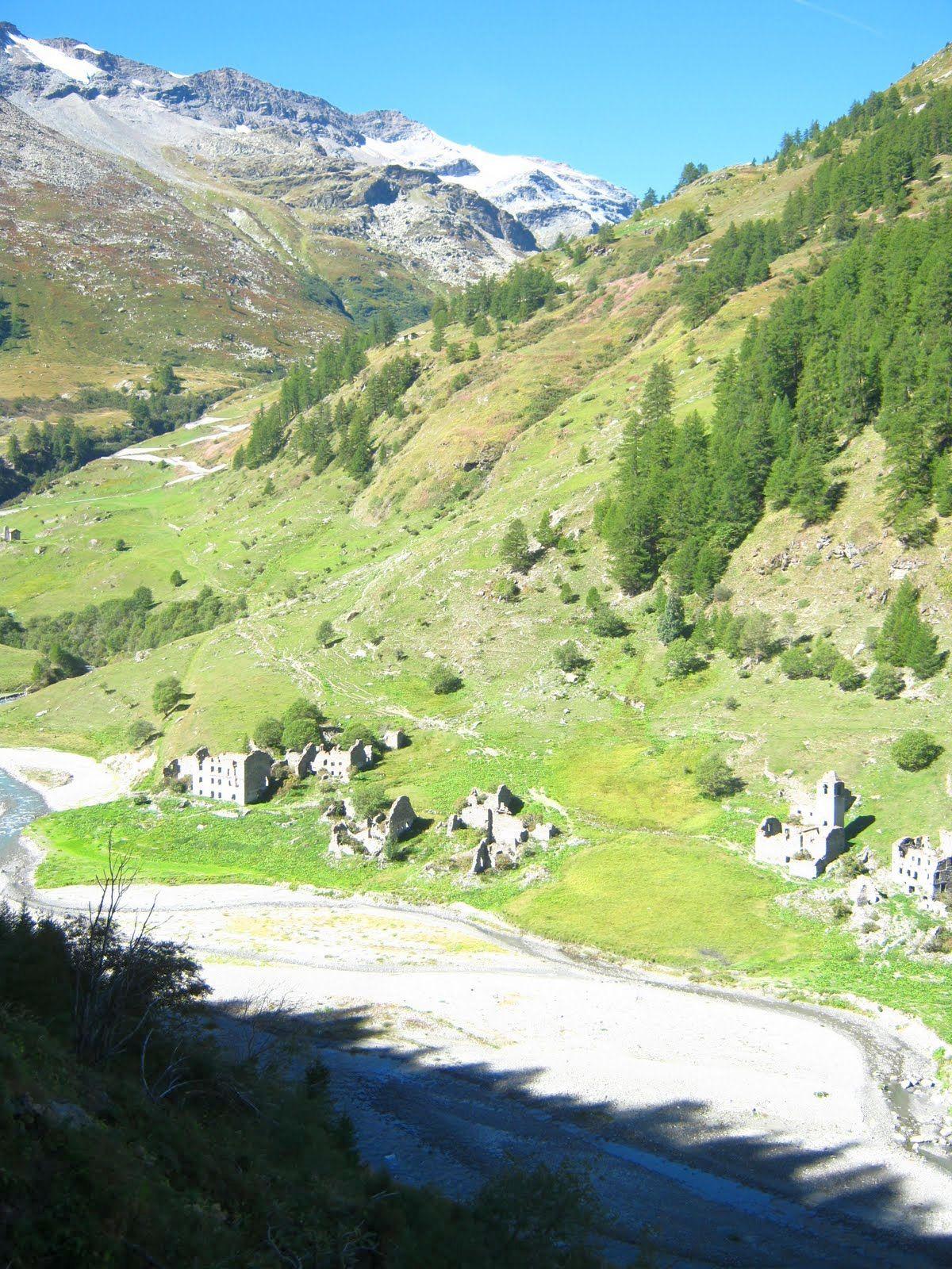 Valgrisenche (ITA) - Widok na szczyty