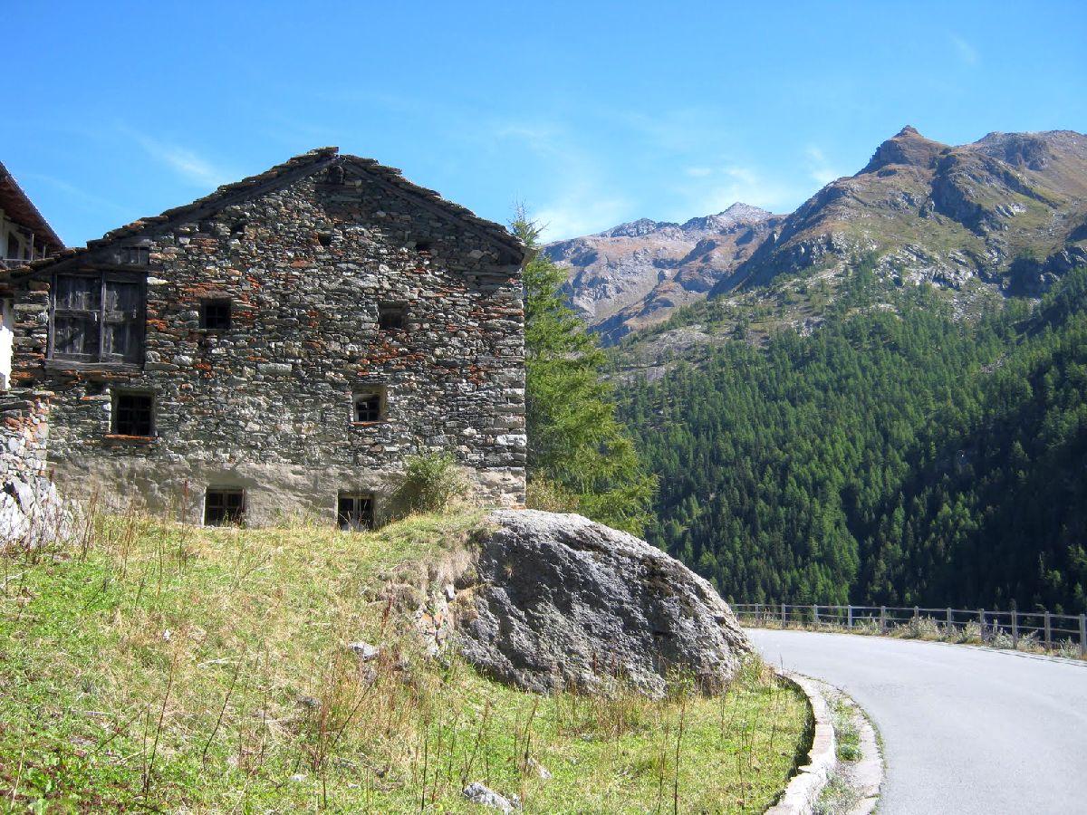 Valgrisenche (ITA) - Na zakręcie
