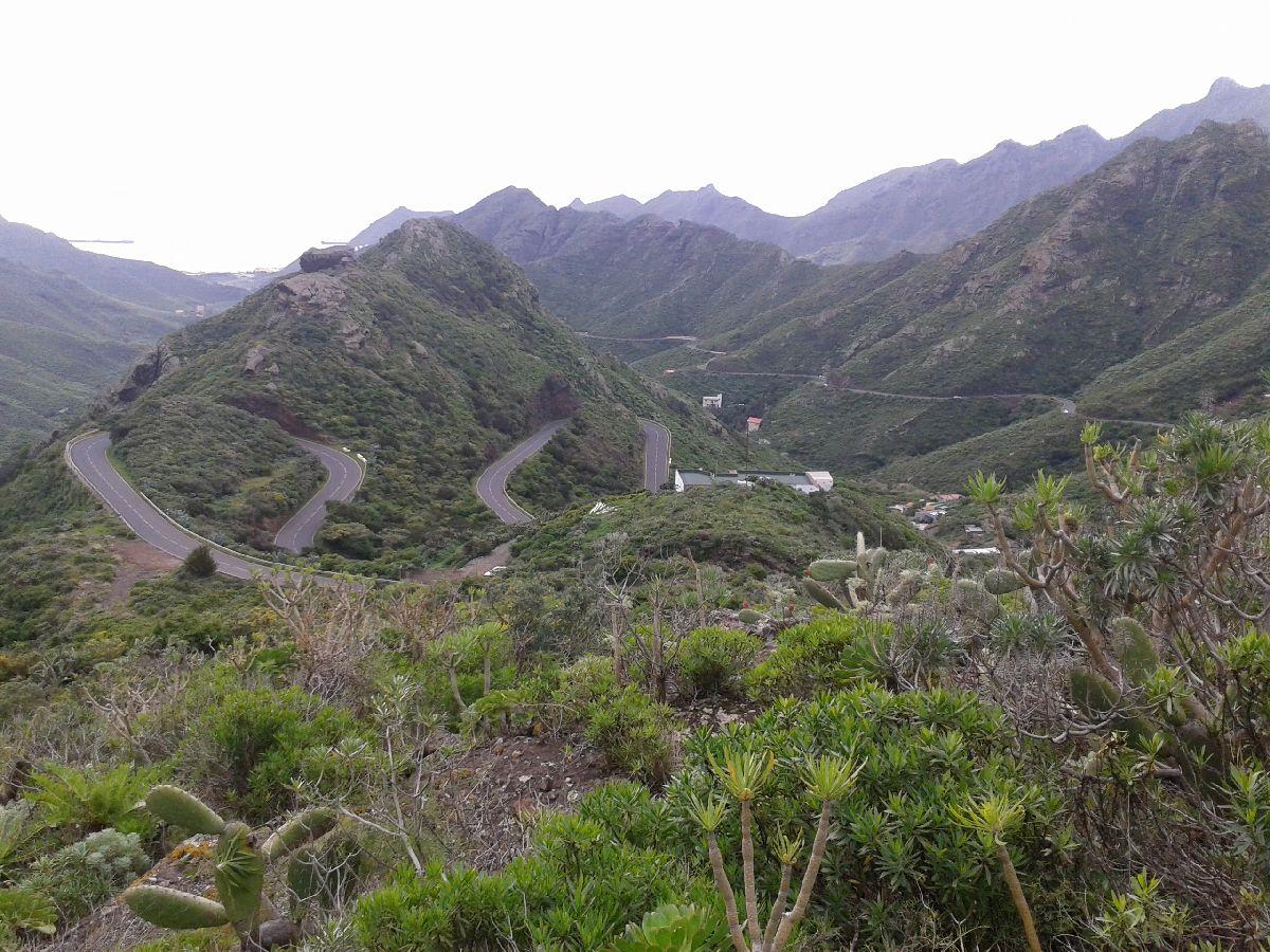 Anaga (ESP) - Fragment trasy