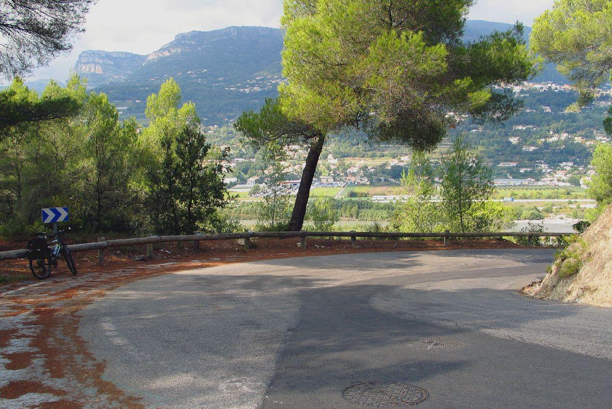 Aspremont (FRA) - Widok z podjazdu