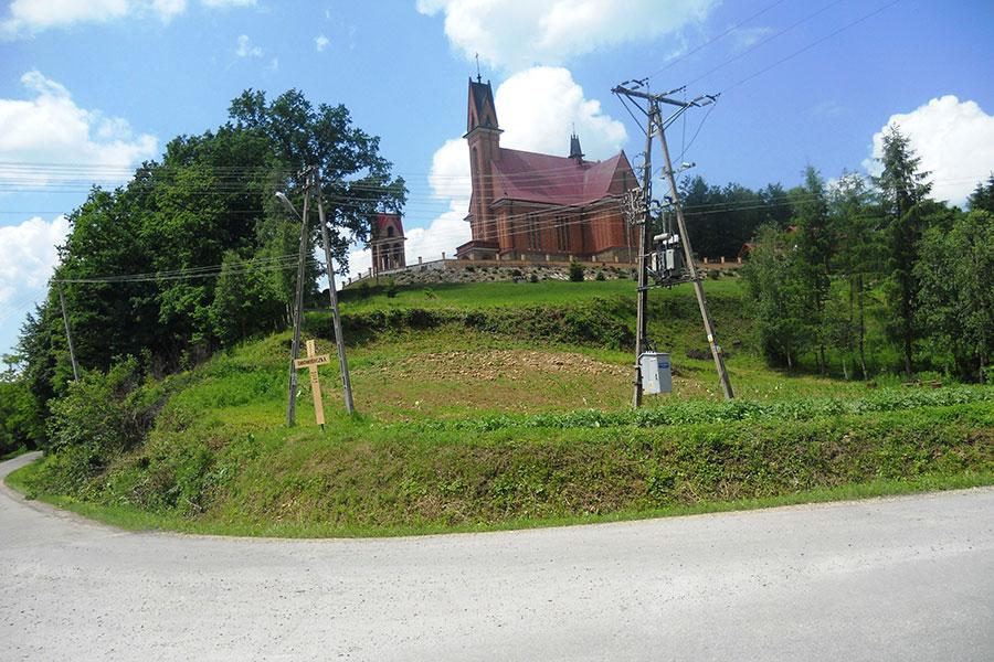 Hucisko Jawornickie - Kościół w Drohobyczce
