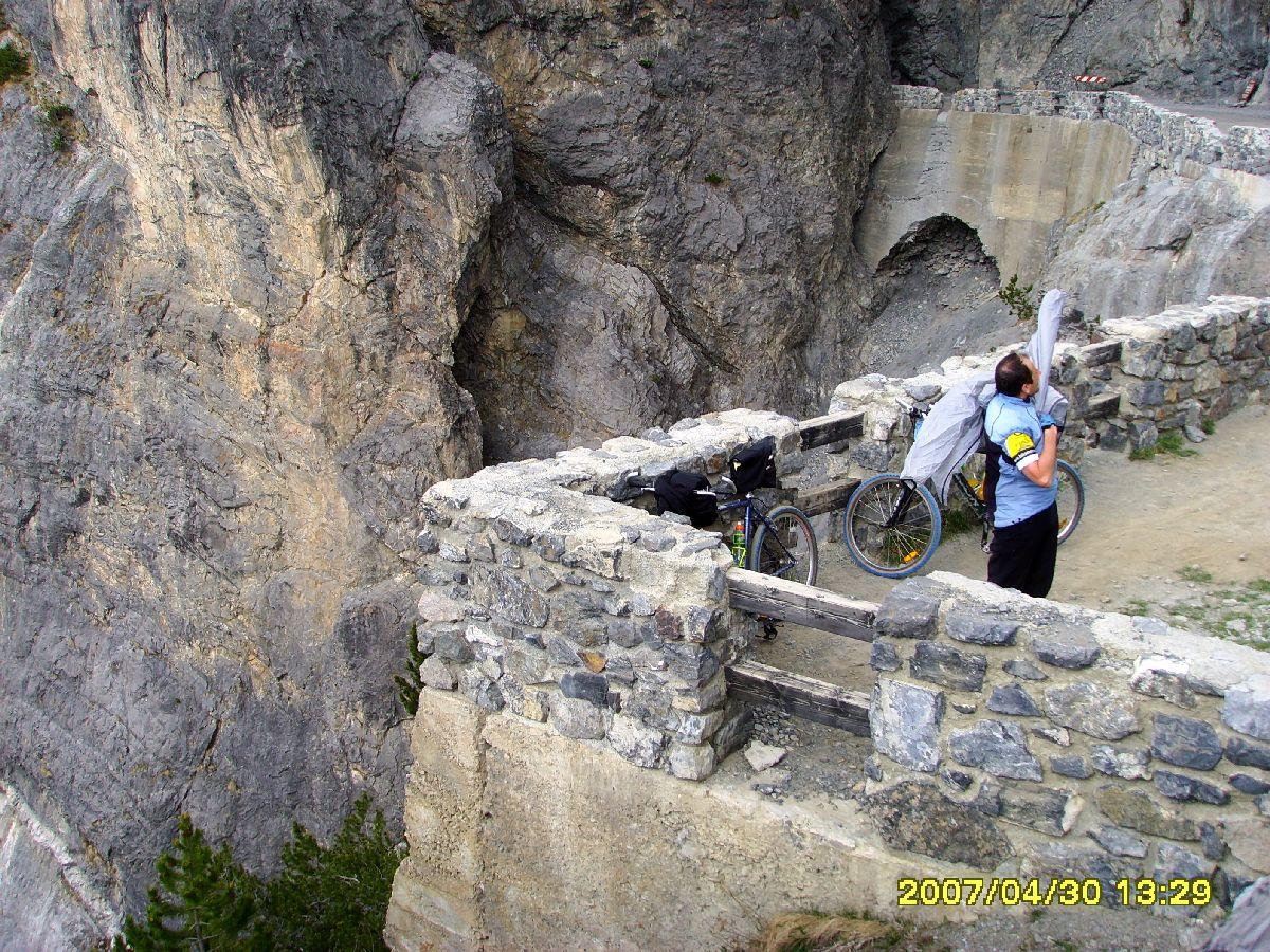 Passo Torri di Fraele (ITA) - Na szczycie