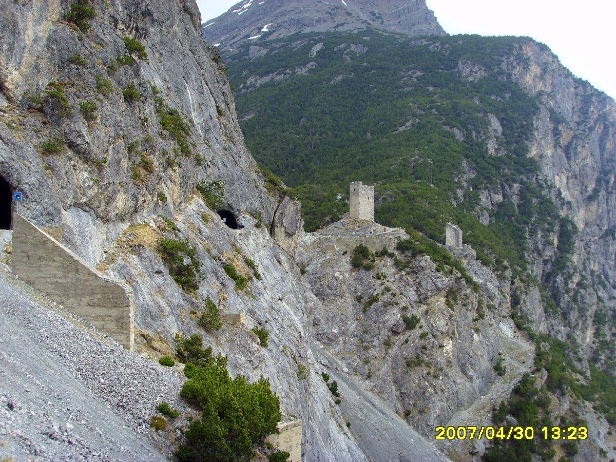 Passo Torri di Fraele (ITA) - Końcówka podjazdu