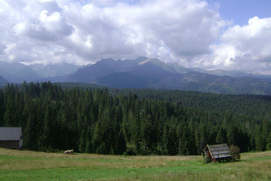 Głodówka - Kolejny widok na góry.