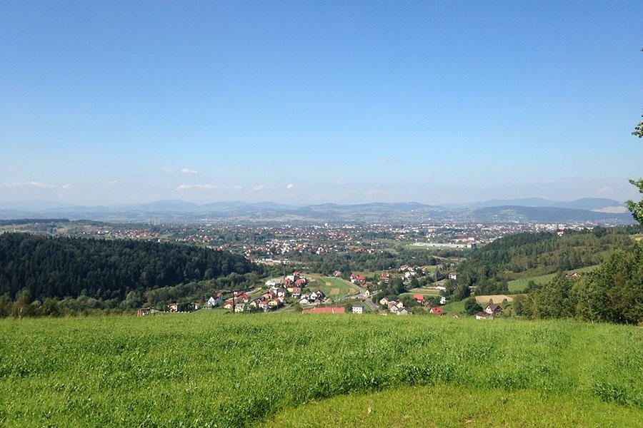 Góry Jamnickie - Kotlina Sądecka i Beskidy