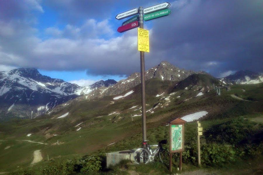 Col du Joly (FRA) - Widoki na górze