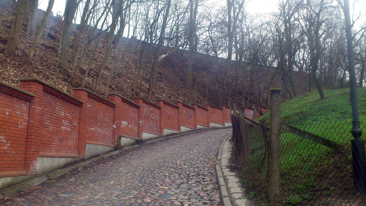 Góra Kalwaria - Fragment trasy