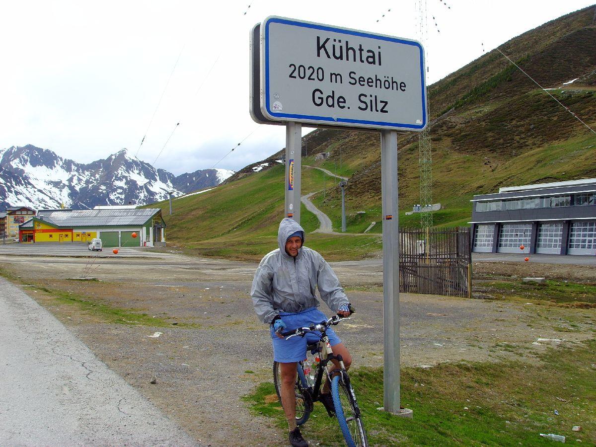 Kühtai (AUT) - Tabliczka miejscowości