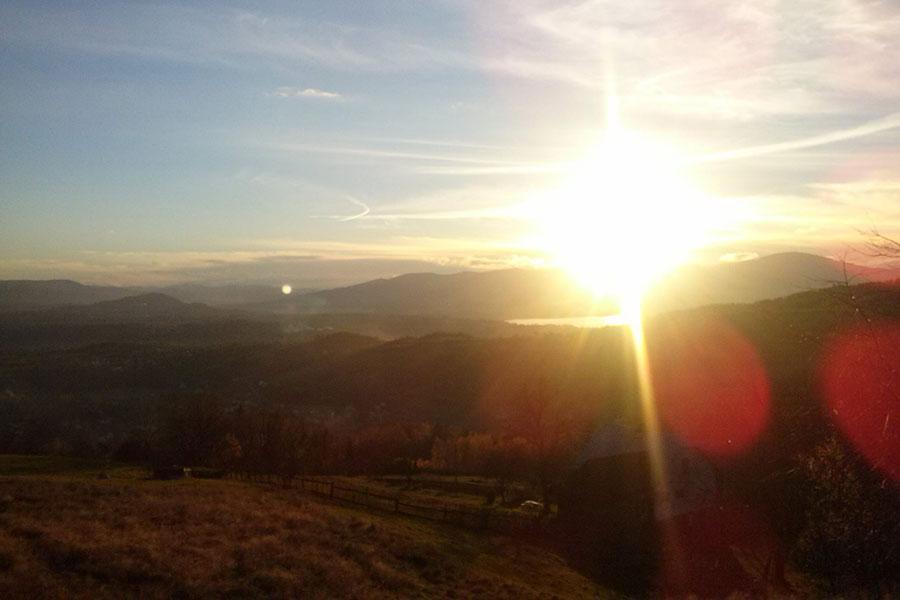Łopaci Łaz - Widok ze szczytu