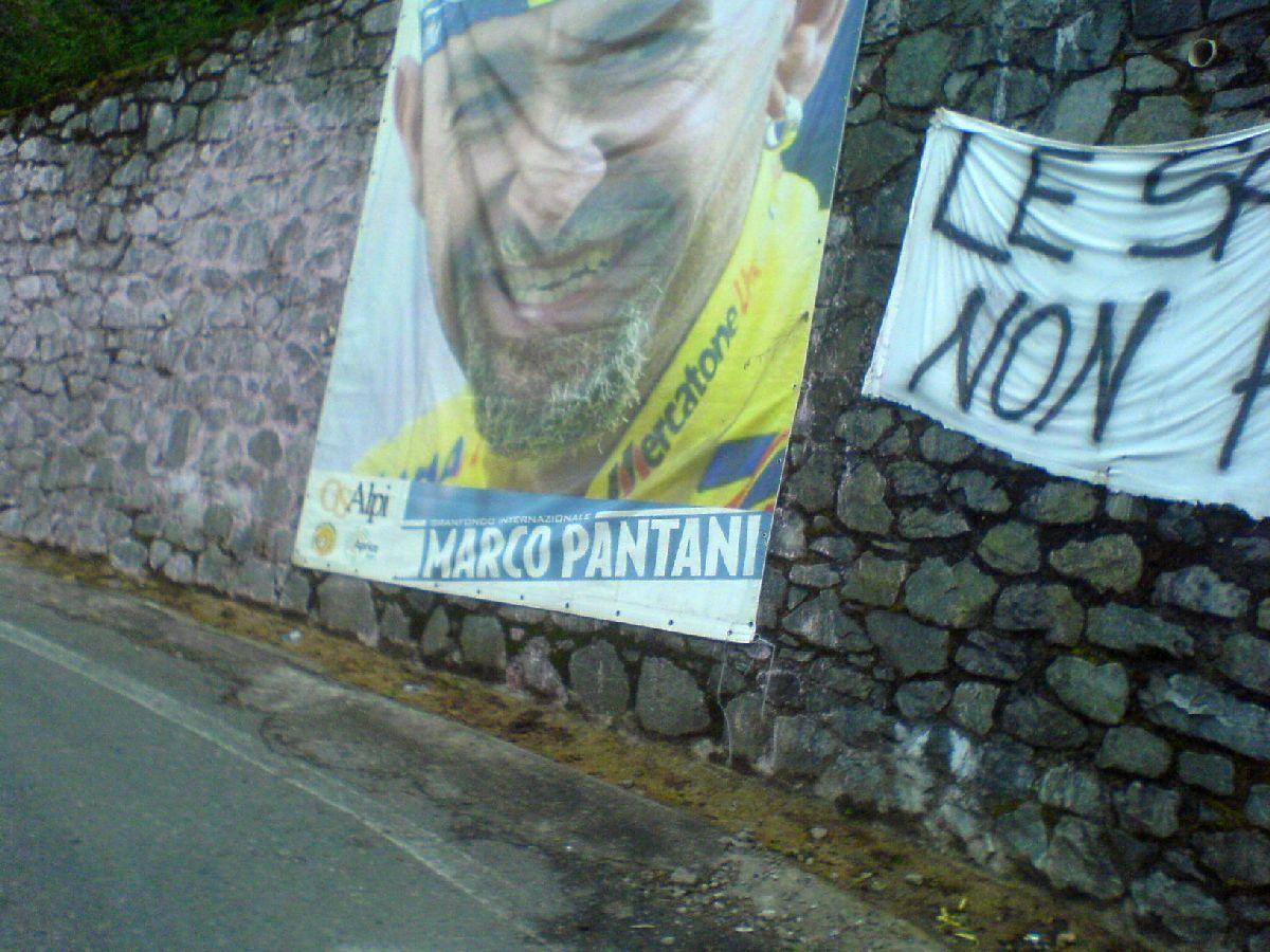 Passo del Mortirolo (ITA) - Pantani...