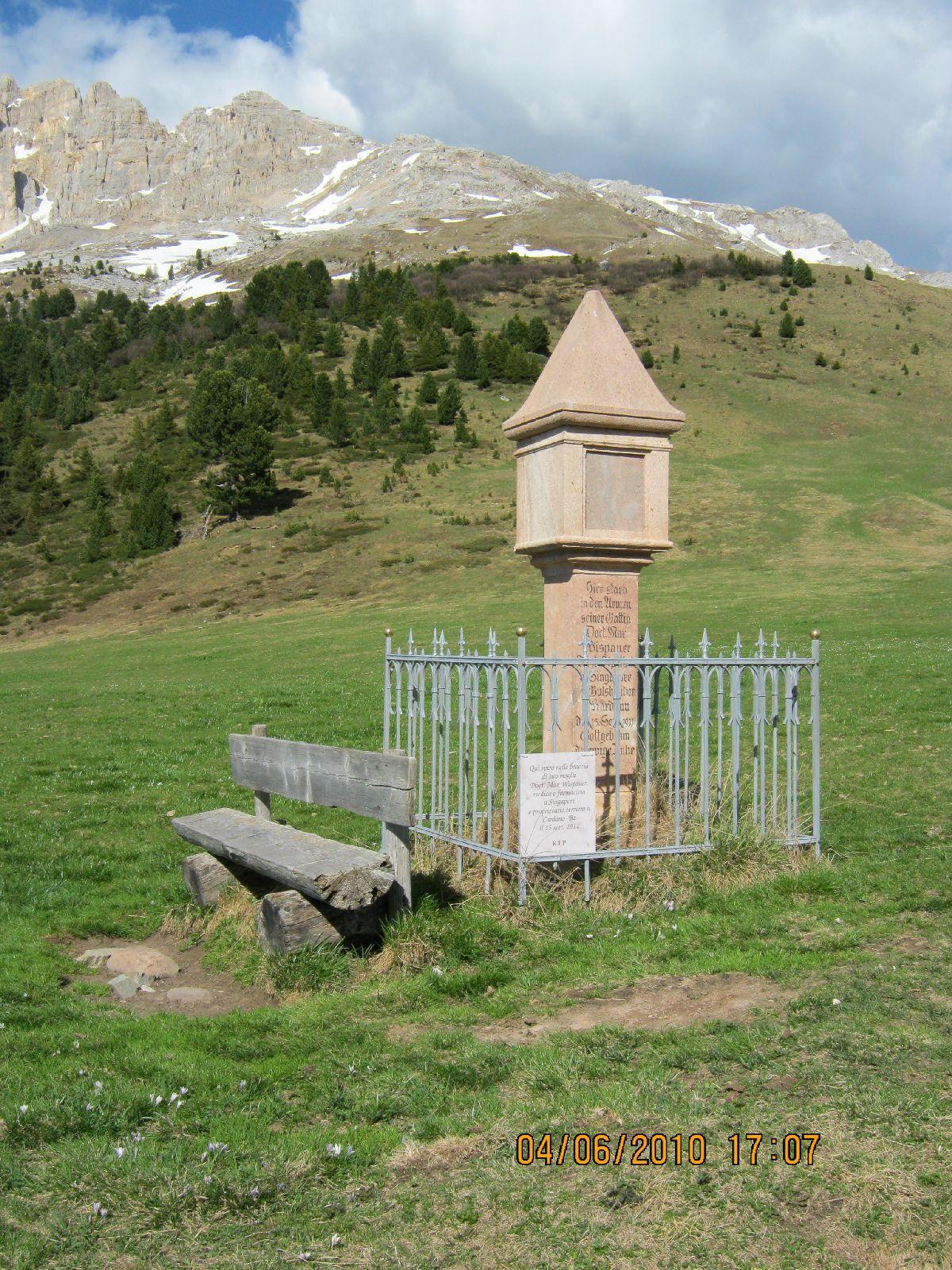 Passo Pampeago (ITA) - Widoki z trasy