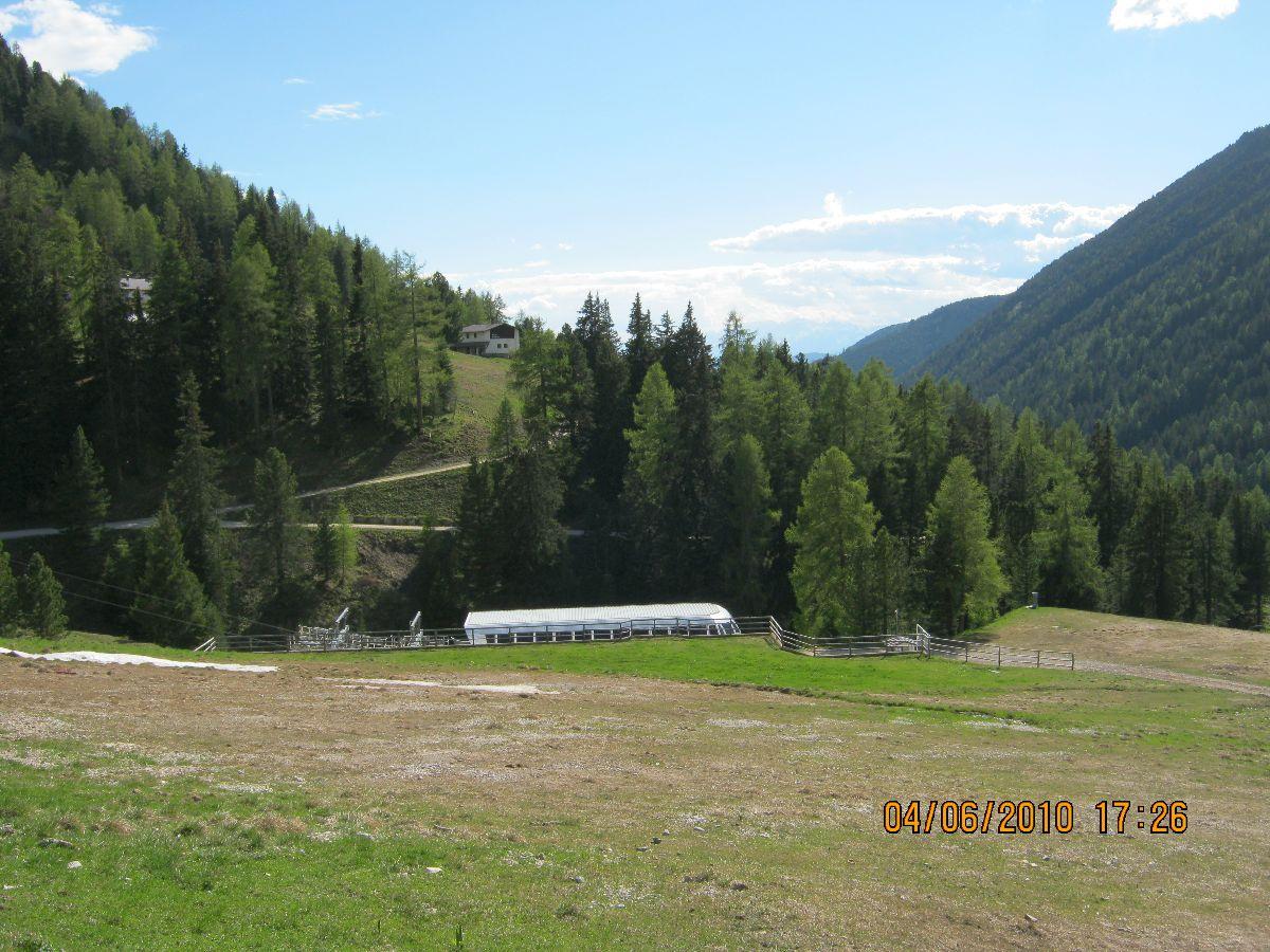 Passo Pampeago (ITA) - Kolejny fragment