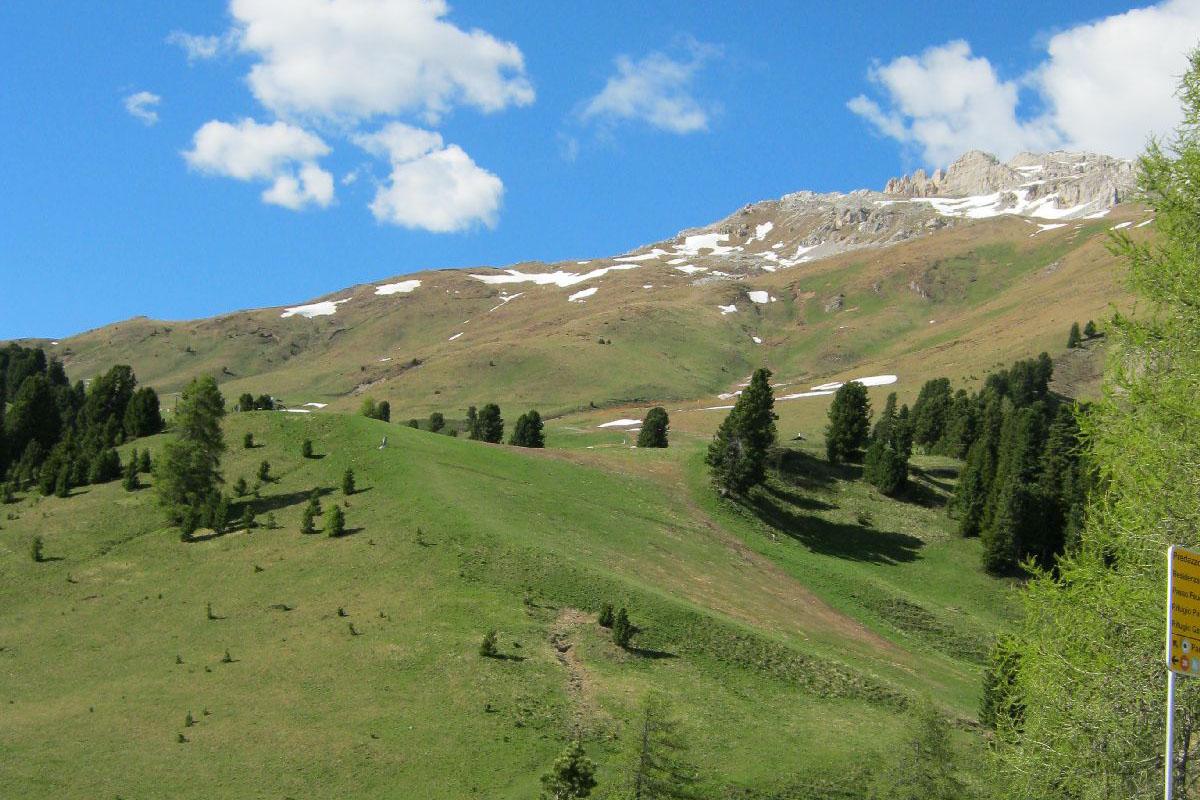 Passo Pampeago (ITA) - Piękne dolomity