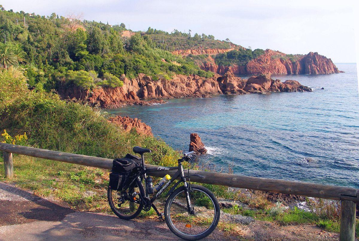 Pic de l'Ours (FRA) - Wybrzeże w okolicy