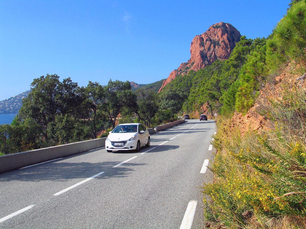 Pic de l'Ours (FRA) - Droga na start podjazdu