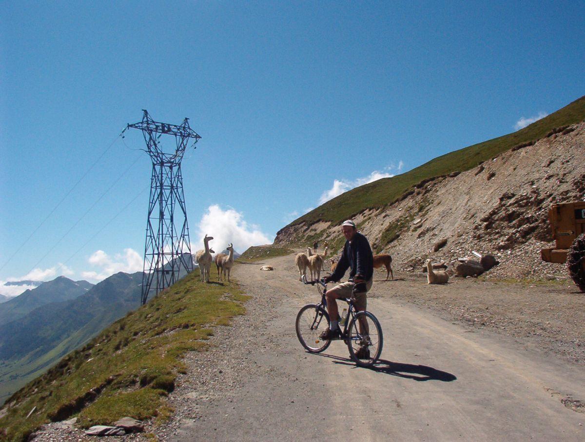 Pic du Midi de Bigorre (FRA) - Lamy na drodze