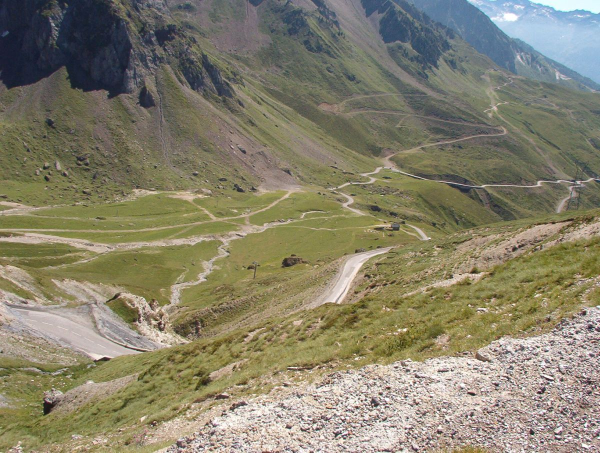 Pic du Midi de Bigorre (FRA) - Słynne podjazd pod Tourmalet
