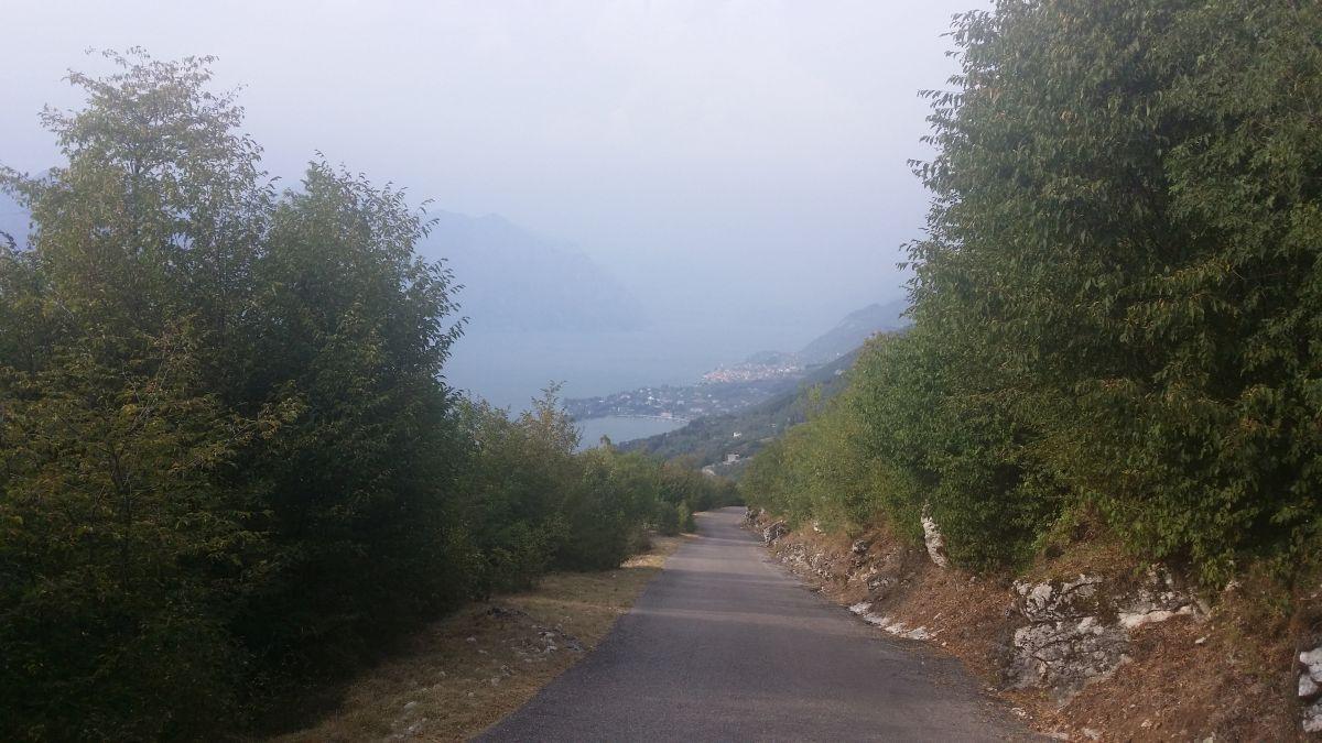 Punta Veleno (ITA) - Fragment trasy
