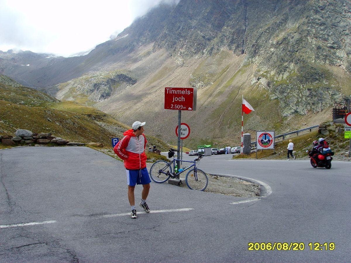 Passo del Rombo (Timmelsjoch) - Na przełęczy