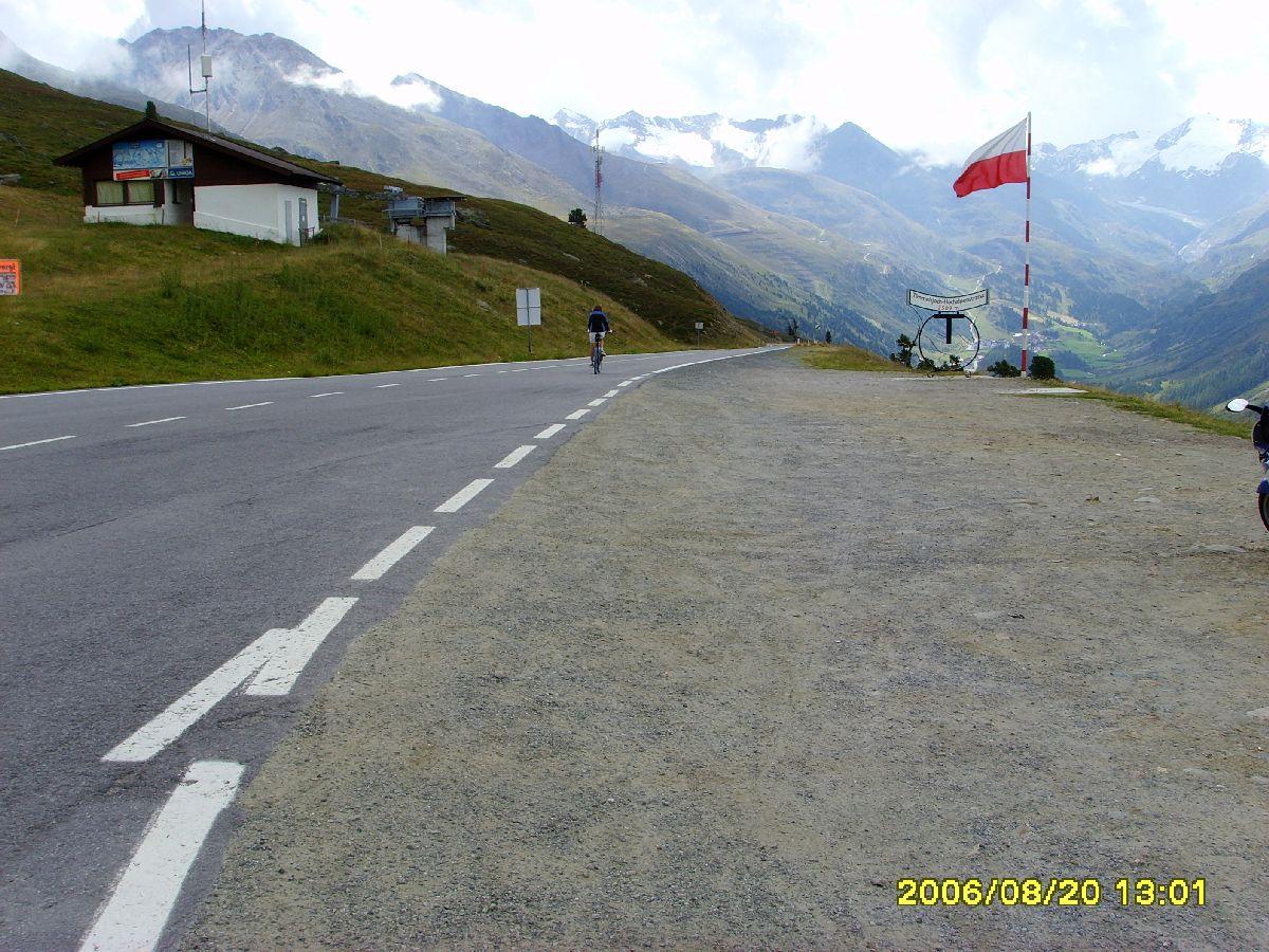 Passo del Rombo (Timmelsjoch) - Fragment podjazdu