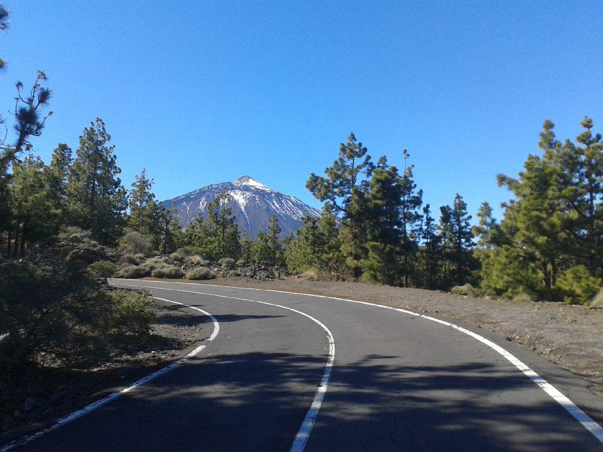 El Teide (ESP) - Fragment podjazdu