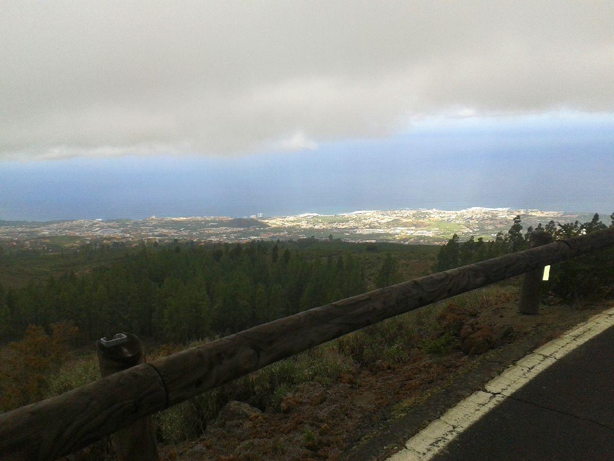 El Teide (ESP) - Widok na Puerto de la Cruz