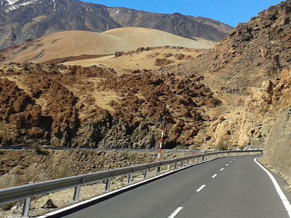 El Teide (ESP) - Najwyższy punkt podjazdu