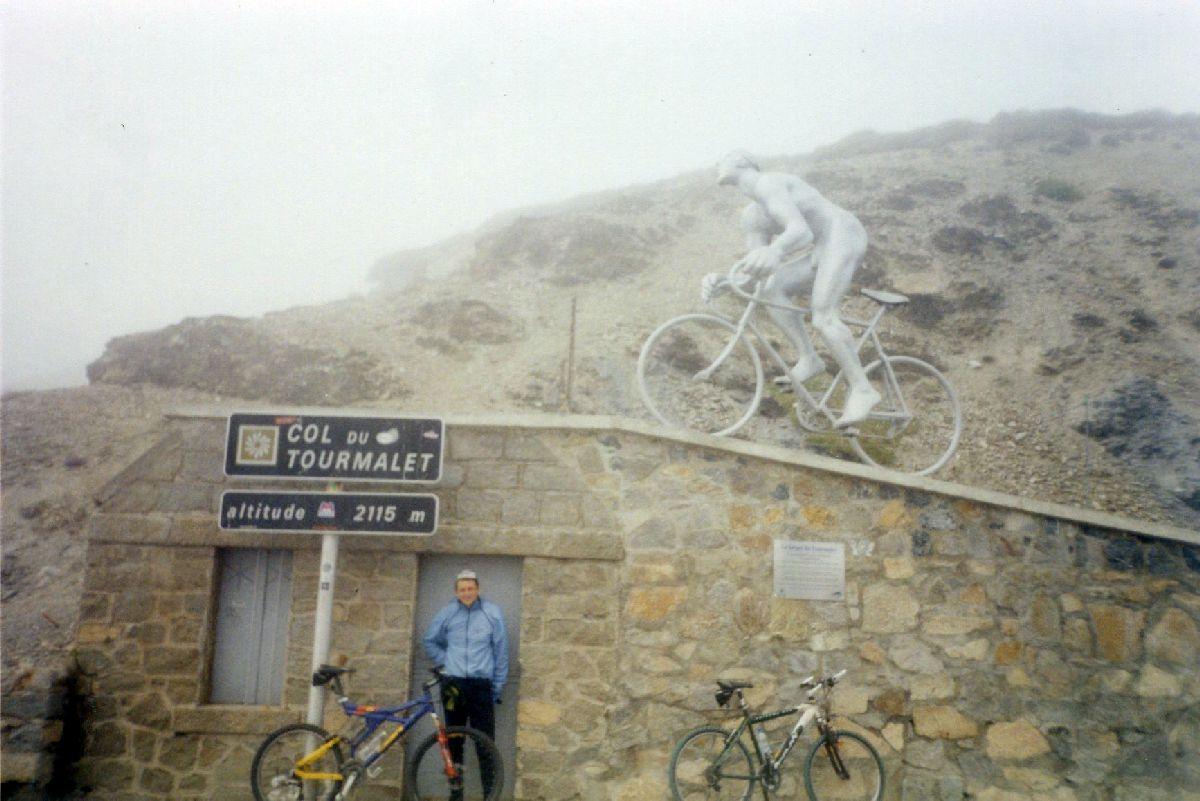 Col du Tourmalet (FRA) - Fragment podjazdu