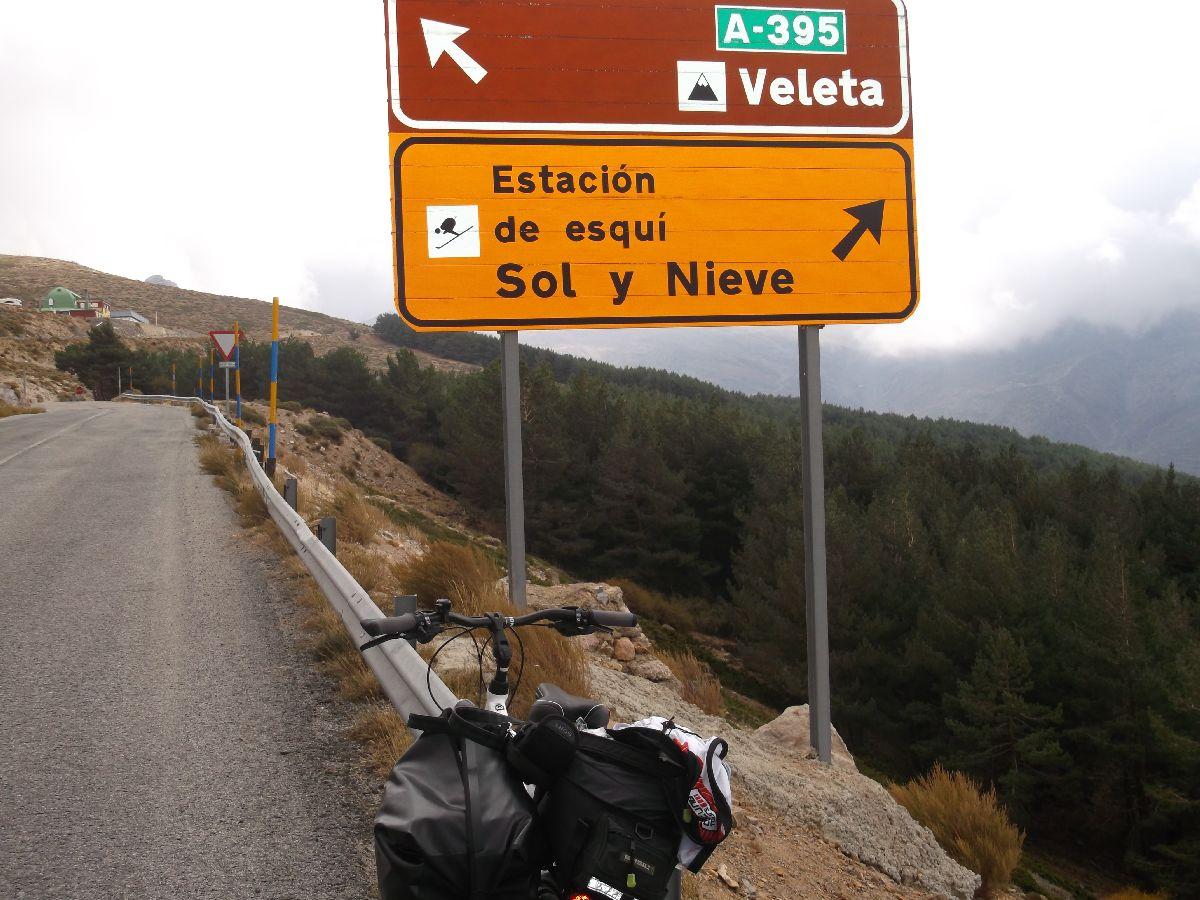 Pico de Veleta (ESP) - Fragment trasy
