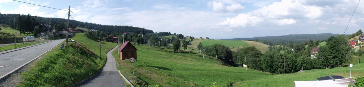 Zieleniec - Panorama z Zieleńca