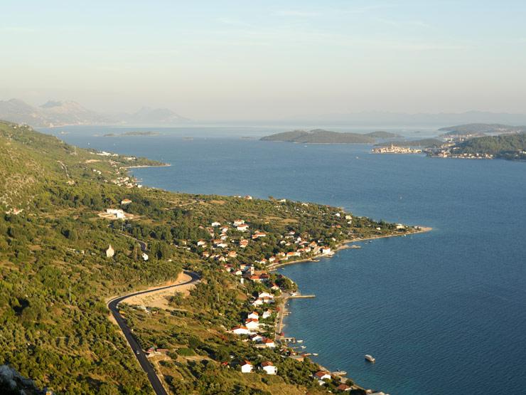 Podjazdy w Chorwacji