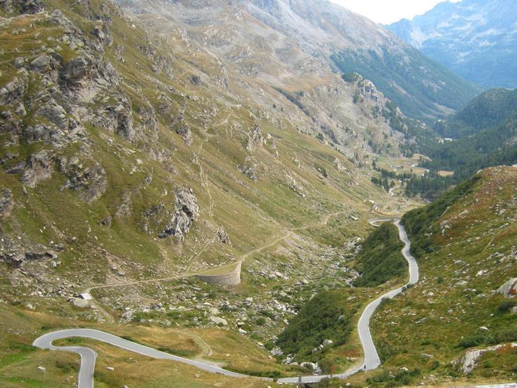 Podjazdy we Włoszech